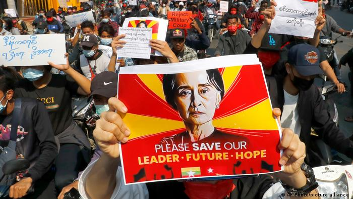 Civilian Activist Aung San Suu Kyu's arrest see a massive three days protest across Southeast Asian Countries