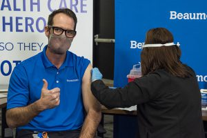 Why is Beaumont Health Canceling Second dose vaccine for 1884 applicants EDF