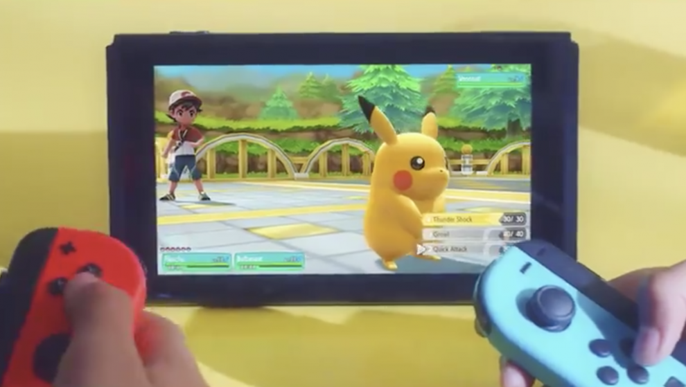 Nintendo Switch is coming up with Pokemon game