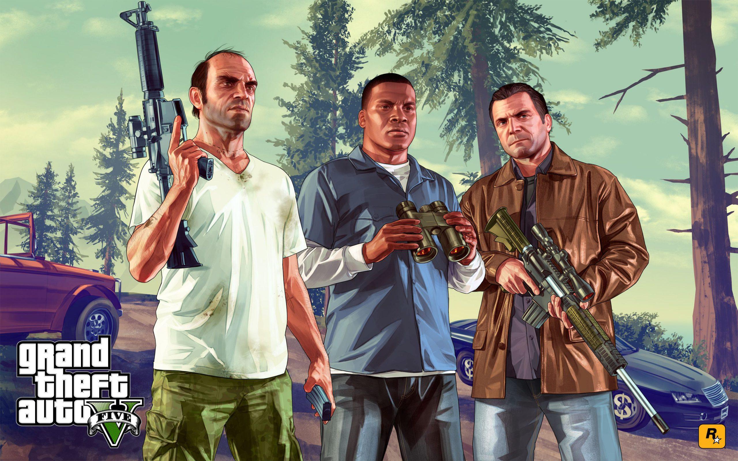 TOP 10 GTA V wallpapers