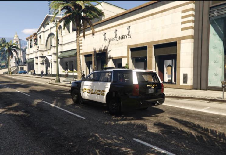 location of all gta v police stations