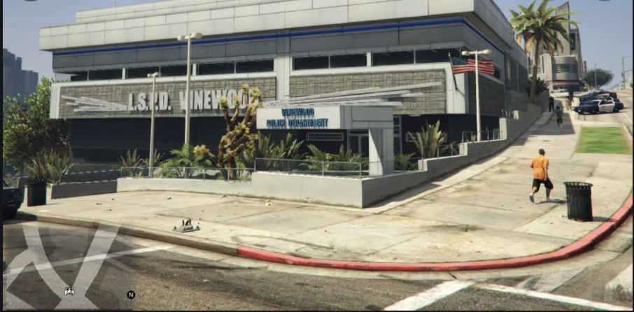 location of all gta v police stations