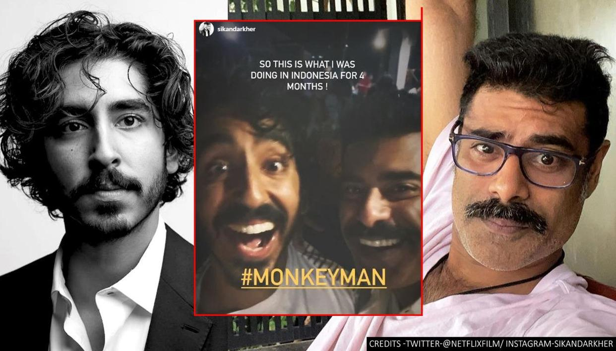 """dev patel and shobita dhulipala together in the """"Monkey Man"""""""