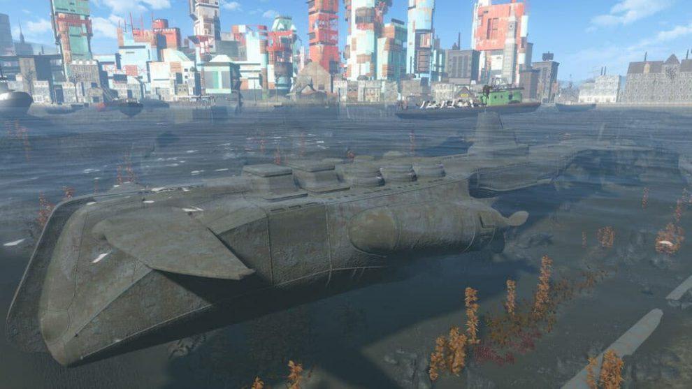 Fallout 4 Submarine