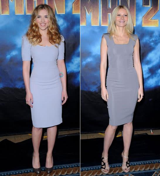 Gwyneth Paltrow Scarlett Johansson