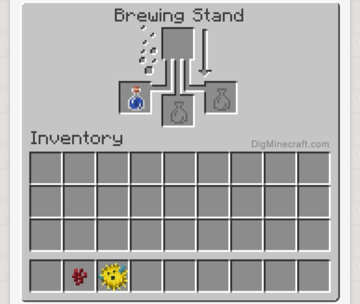 Minecraft How To Make Water Breathing Potion