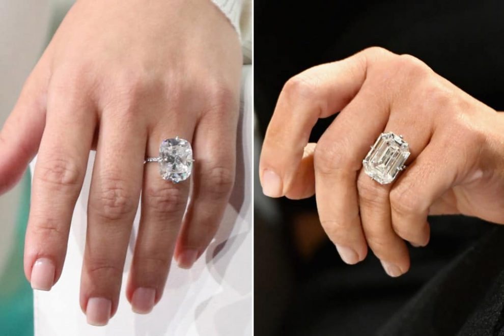 Get the Look on Kims Engagement Ring For Rapper Kanye West and Evrything you Need To Know