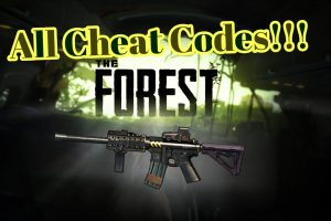 The Forest Cheat Codes Everything You Need To Know