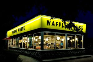 Kanye Waffle House