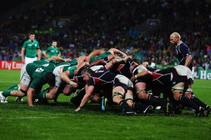 Two Wins for USA and Two Defeats for Ireland on First day of Rugby Seven Men's Tournament